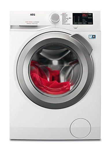 AEG L6FB55470 Waschmaschine Frontlader / Waschautomat mit Mengenautomatik / Energieklasse A+++ (139...