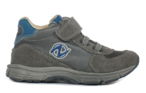 Naturino Samuel01 200629501, Chaussures montantes garçon Gris
