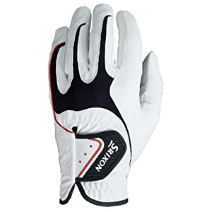 Srixon Men's All Weather Glove (Left Hand Glove for Right Handed Golfer) - White, Small
