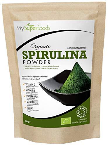 Bio Spirulina-Pulver (200g) - Höchste Qualität -