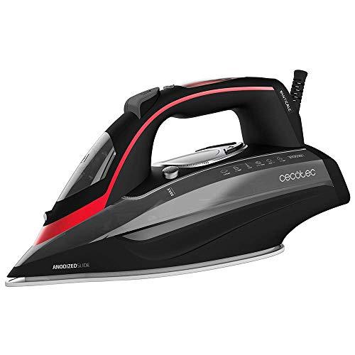 Cecotec 3D ForceAnodized 950 Smart i-Pump - Plancha (Plancha vapor-seco, 230 g/min, Negro, Rojo, 65 g/min, 0,4 L, Integrado)