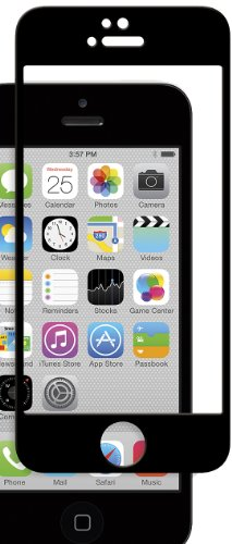Moshi iVisor Glass für Apple iPhone 5/5S/5C (schwarz) - 5 I Phone Moshi