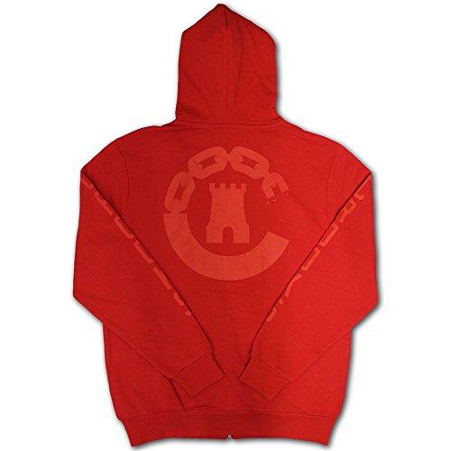 Crooks & Castles Lowkey Zip Hoodie Red red