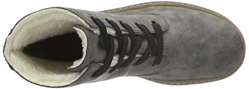 Rieker Damen Y8300 Kurzschaft Stiefel Grau (Smoke/Grau / 46)