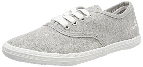 TOM TAILOR Damen 4892401 Schlichter Sneaker, Beige (Jersey), 41 EU
