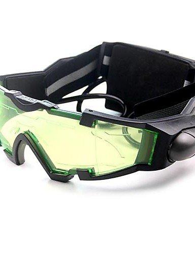 Fernrohr Nachtsichtbrille mit Blauen Flip-Out-LED-Leuchten