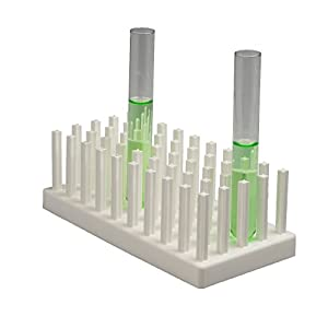 (6 Neolab 2354 Test Tube Rack – 3 x 10 in, Polypropylene