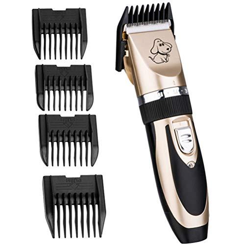 Dbtxwd Dog Clippers Cat Rasierer, elektrische schnurlose wiederaufladbare leise Haarschneidemaschinen für Hunde, Katzen und andere Haustiere (Ruhig Akku Tier-haarschneidemaschine)