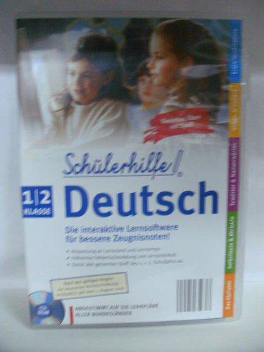 Schülerhilfe Deutsch Klasse 1/2: Die interaktive Lernsoftware für bessere Zeugnisnoten