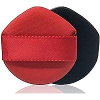 GOOTUOUOU Make-up-Schwamm Dreieck kosmetische Concealer Puderquaste Gesicht Make-up Schwamm Puff (rot) preisvergleich bei billige-tabletten.eu