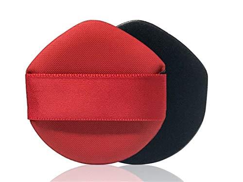 Puff Bouffée éponge de maquillage de visage de bouffée de poudre de correcteur cosmétique de triangle (rouge) Par Znyo