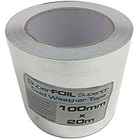LAMINADO de calidad superior cinta 100mm por 20m para térmico (MULTIFOIL aislamiento
