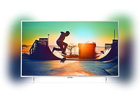 Philips 32PFS6402/12 80 cm (32 Zoll) Fernseher (Full-HD, Triple Tuner, Smart TV) silber (Full Hd Fernseher Günstig)