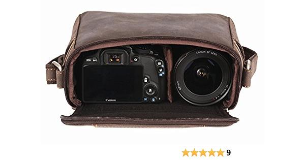 Kalahari Kaama L 13 Leder Kameratasche Kamera