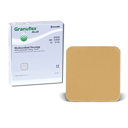 granuflex-hydrocolloid-semi-permeable-dressings-skin-wound-burns-treatment