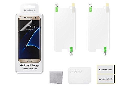 Samsung 2x Bildschirm-Schutzfolie für Samsung Galaxy S7 Edge