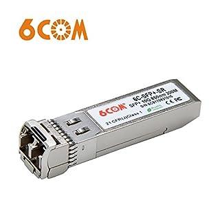 6COM für Juniper EX-SFP-10GE-SR/QFX-SFP-10GE-SR, SFP+ Transceiver, 10Gbps, MMF, 850nm, 300m