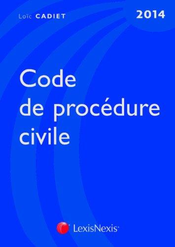 Code de procédure civile 2014