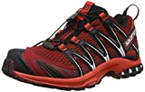 Salomon Xa Pro 3d Herren Traillaufschuhe, Rot (Red Dalhia/fiery Red/black), 46 2/3 EU
