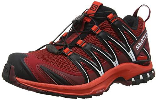 Salomon Herren Xa Pro 3d Fitnessschuhe Mehrfarbig Dalhia/Fiery Red/Black), 40 EU