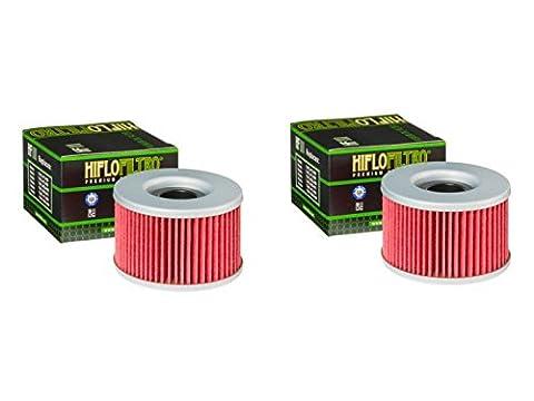 quantité 2–filtre à huile Moto Hiflo Hf111