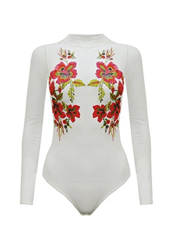 Fashion Star Damen Formender Body * Cream Red