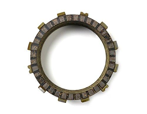 JHMOTO Clutch Plates Ensemble de plaques d'embrayage de friction 5 pièces pour Xv250 Route 66 88-90 Virago 250 95-07 96 97 98 99 V Star 08-15 08 09 10 11 12 13 14 15