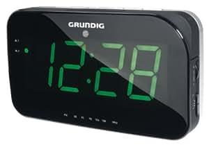 Grundig Sonoclock 490 Uhrenradio (LED-Display) schwarz
