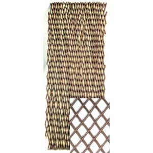 Intermas – Treillis extensible en osier Internas 1,5 x 0,5 m