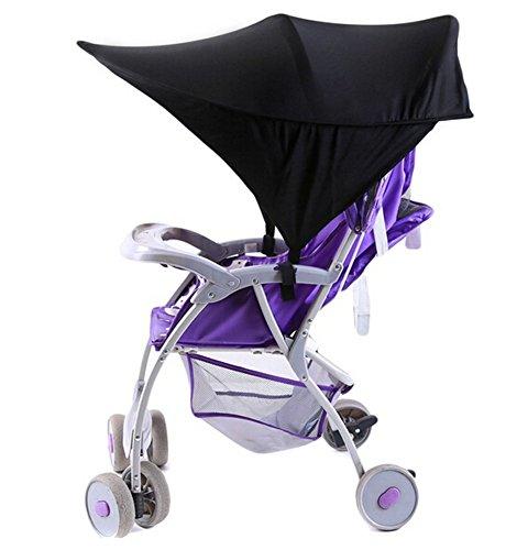 ODN Universal Sonnensegel,Sonnendach,Sonnenverdeck, Sonnenschutz mit UV-Schutz für Kinderwagen und Buggy
