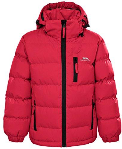 Trespass Kids Tuff Waterproof Rain Jacket with Removable Hood