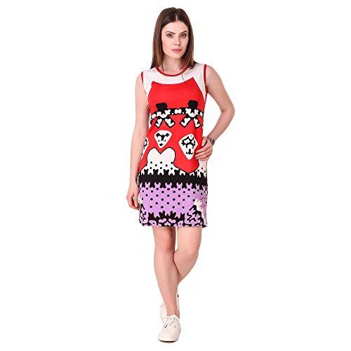 Bluebell Cloud Women's Cotton Dress Multi Color - BB-D5-M