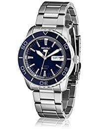 Seiko Men's Analogue Automatic Watch with Stainless Steel Strap SNZH53K1