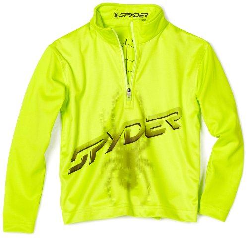 Spyder Kleinkind/Kleinkind Boy 's Mini Mystic Bug T-Neck, Jungen, Sharp Lime (Bugs Spyder Boys)
