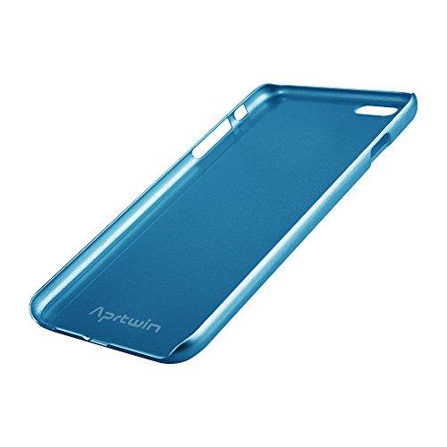 Coque iPhone 6S, Coque iPhone 6, Aprtwin® Extreme Deluxe Bling Beauté Etui Housse Téléphone Couverture de Hard Plastique Coque pour Apple iPhone 6/6S (4.7 Pouce)[Doré] Bleu