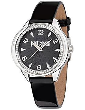 JUST CAVALLI Damen - Armbanduhr JC01 Analog Quarz Leder R7251571505