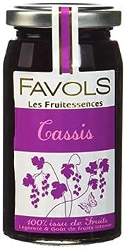 FAVOLS les Fruitessences Spécialité 100% Fruits Cassis 250 g - 1 pc