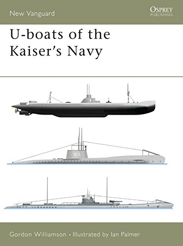 U-boats of the Kaiser's Navy (New Vanguard)