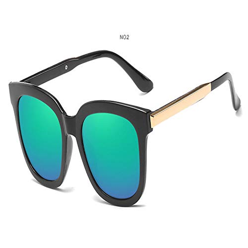 JYTDSA Square Sunglasses Women Coating Mirror Lady Sunglass Female Sun Glasses for Women Eyewear