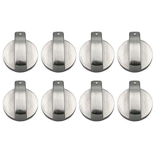 8 Unids Botones Horno, Gosear Universal Metal Interruptores Giratorios Interruptores de Control...