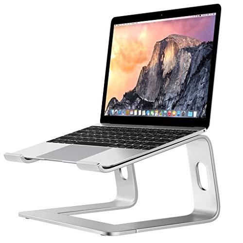 Ace Tastatur (Ace xiangyv Laptop-Ständer, Verstellbarer, Faltbarer, ergonomischer Desktop-Laptop-Kühlständer für 12- bis 15,6-Zoll-Laptops - Schwarz/Silber (26 x 22 x 14,5 cm) (Color : Silver))