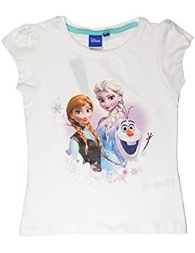 Frozen - Camiseta de Manga Corta - Para Niña