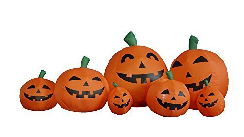 een Inflatable Pumpkins Yard Decoration by BZB Goods (Inflatables Für Halloween)