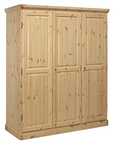 armoire pin massif brut le top 10 des meilleurs d 39 ao t. Black Bedroom Furniture Sets. Home Design Ideas