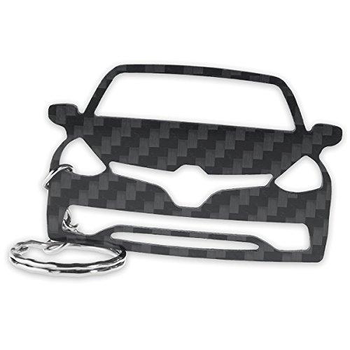 Preisvergleich Produktbild ACF Renault Schlüssel-Anhänger / Echtes Carbon / Geschenk-Idee / Tuning / Renault Clio 4 RS