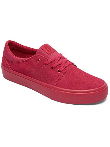 DC Shoes Trase Se - Sneakers Basses - Femme Rouge - Raspberry