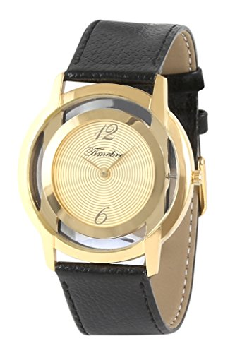 Timebre Men's Ultra Slim Gold Watch image