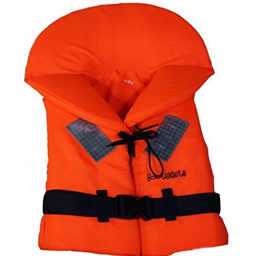 Bootskiste Rettungsweste mit Größenwahl von 10 bis über 90 Kg (60-90 Kg)