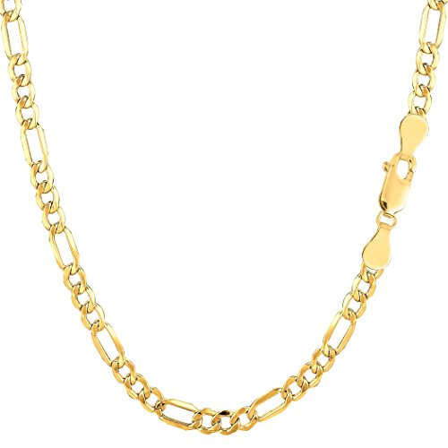 10k-yellow-gold-hollow-figaro-chain-necklace-35mm-20