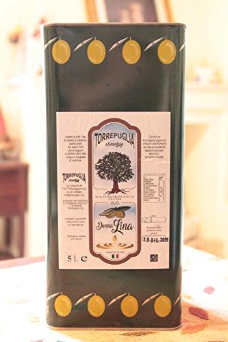 Latta 5 litri olio extravergine d'oliva monocultivar pugliese